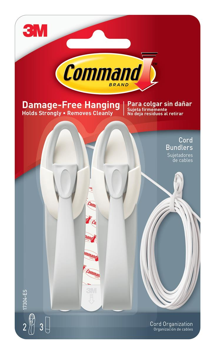 Image for Command Adhesive Cord Bundlers Ref 17304 [Pack 2]