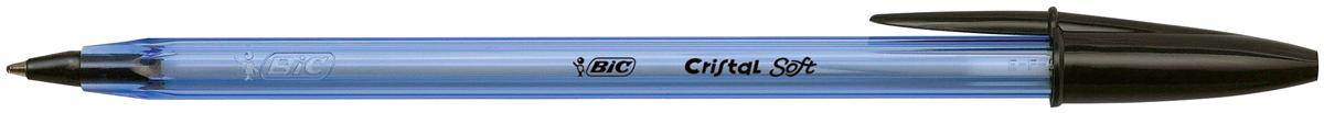 Image for BIC Cristal Soft Ball Pen Black Ref 918518 [Pack 50]