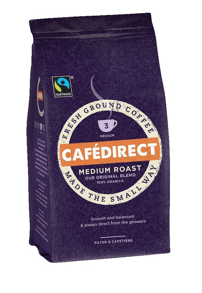 Cafe Direct Medium Roast Filter Coffee 60g Sachet Ref FCR0008 [Pack 45]