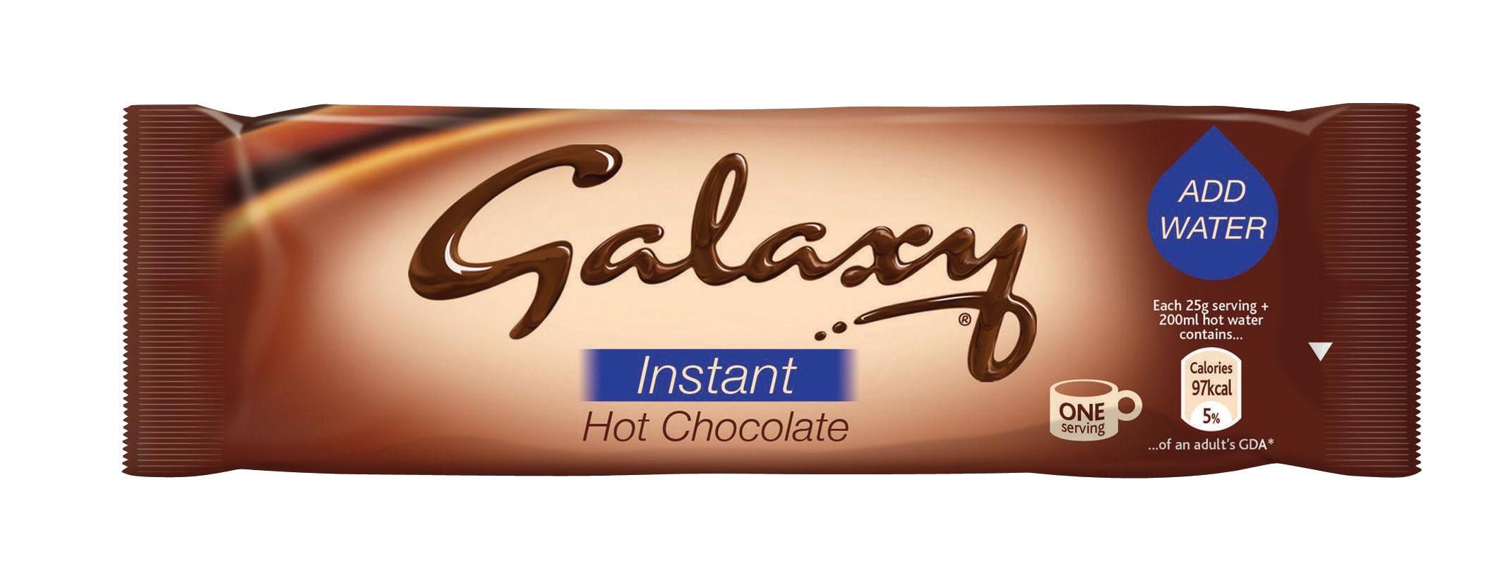Galaxy Hot Chocolate Powder Sachets 25g Ref A02476 [Pack 50]
