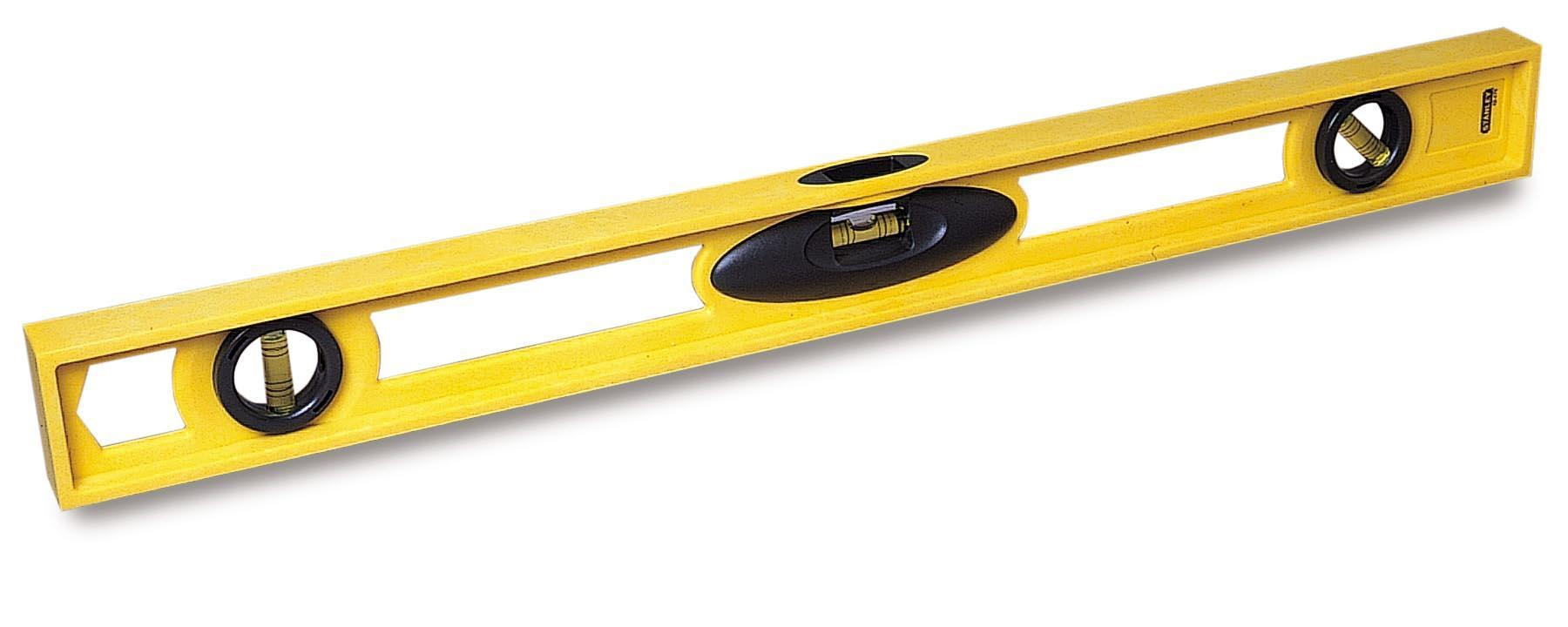 Stanley High Impact Spirit Level 3 Vial 600mm Ref 1-42-476