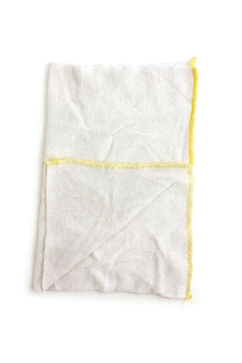 Dish Cloths Stockinette Yellow [Pack 10]