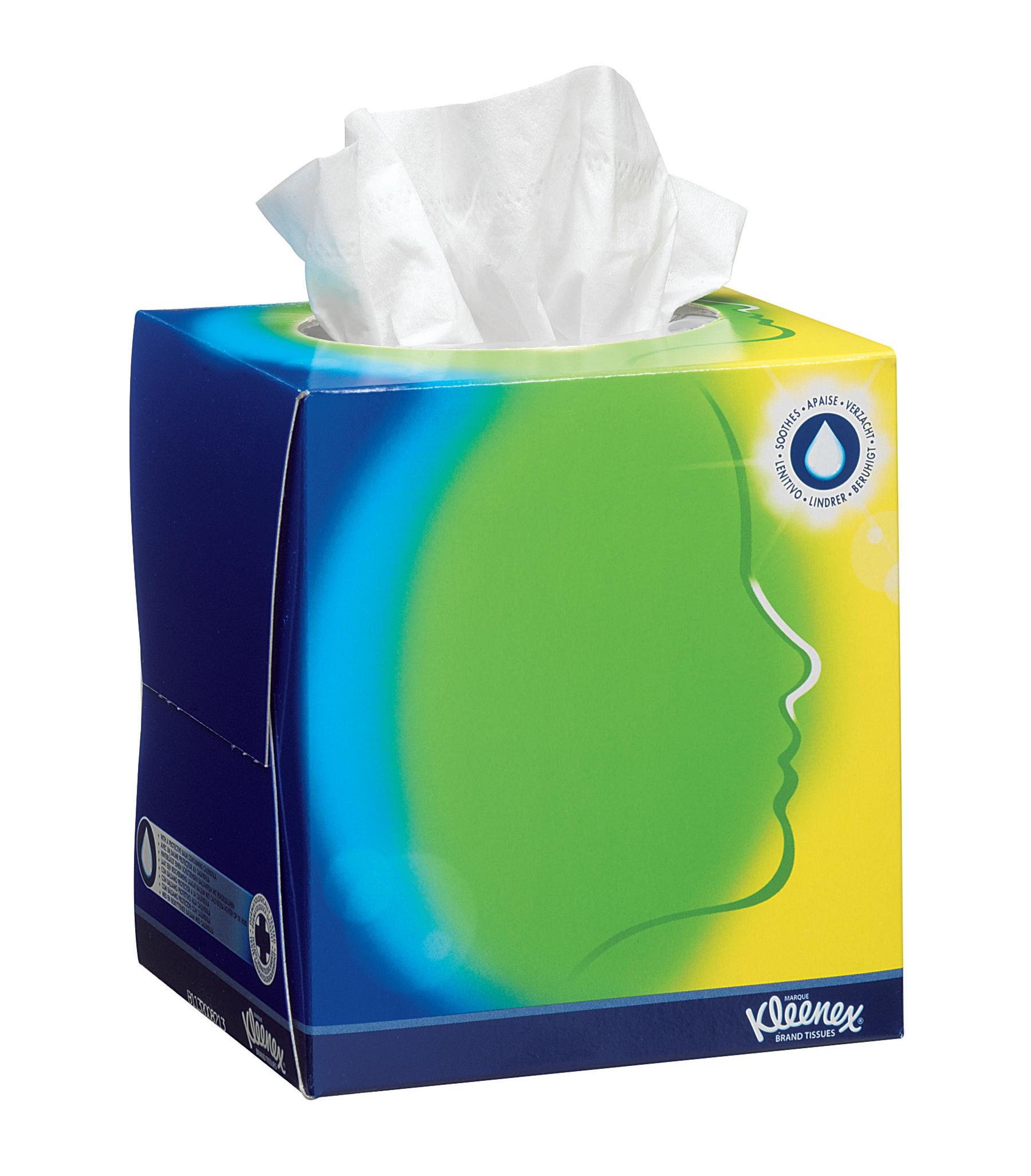 Image for Kleenex Facial Tissue Cube White Ref 8825 [Pack 12]