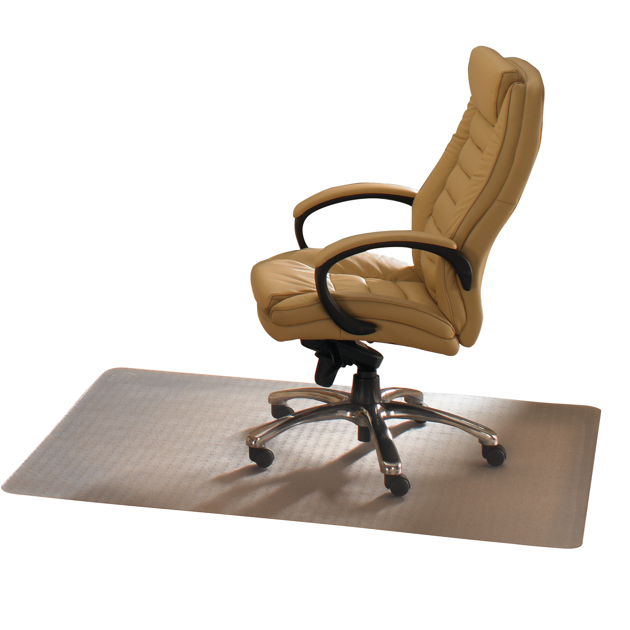 Image for Cleartex Advantagemat Chair Mat For Hard Floor Protection 1200x900mm Clear Ref FCPF129225EV