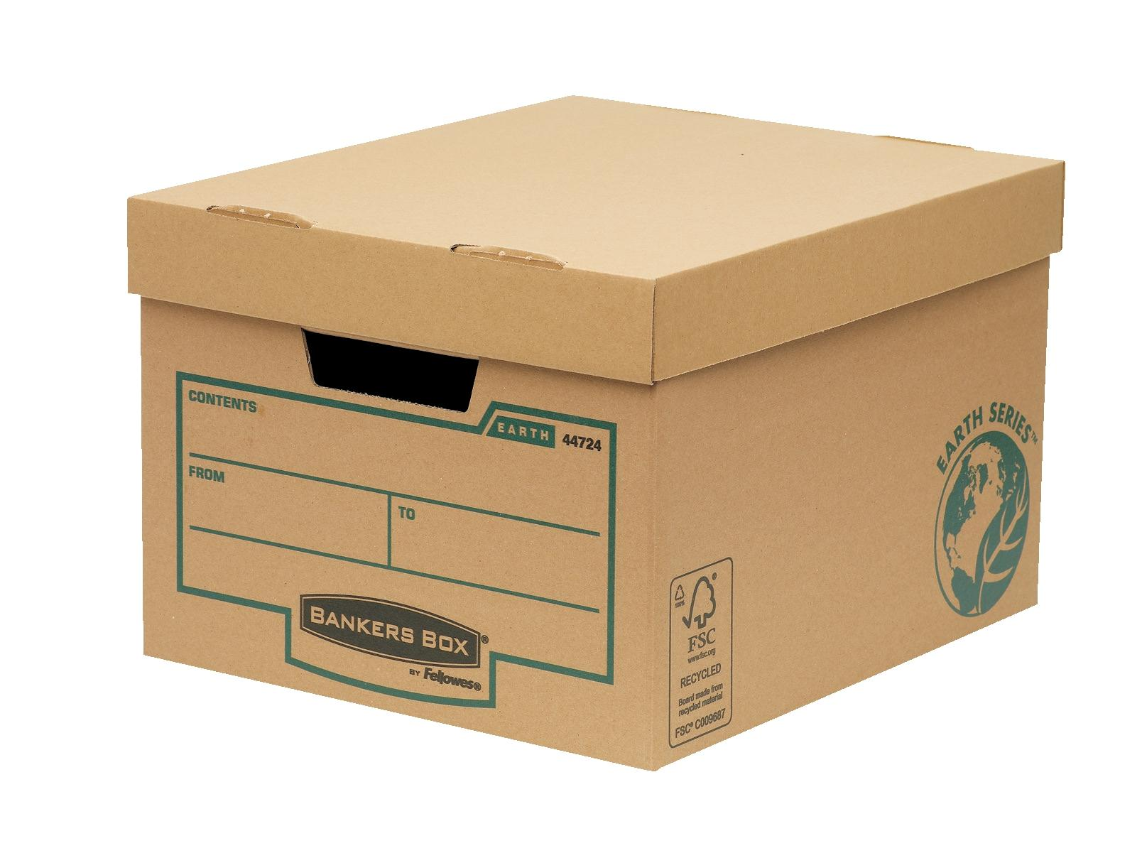Image for Bankers Box Earth Series Budget Storage Ref 4472401 [Pack 10]