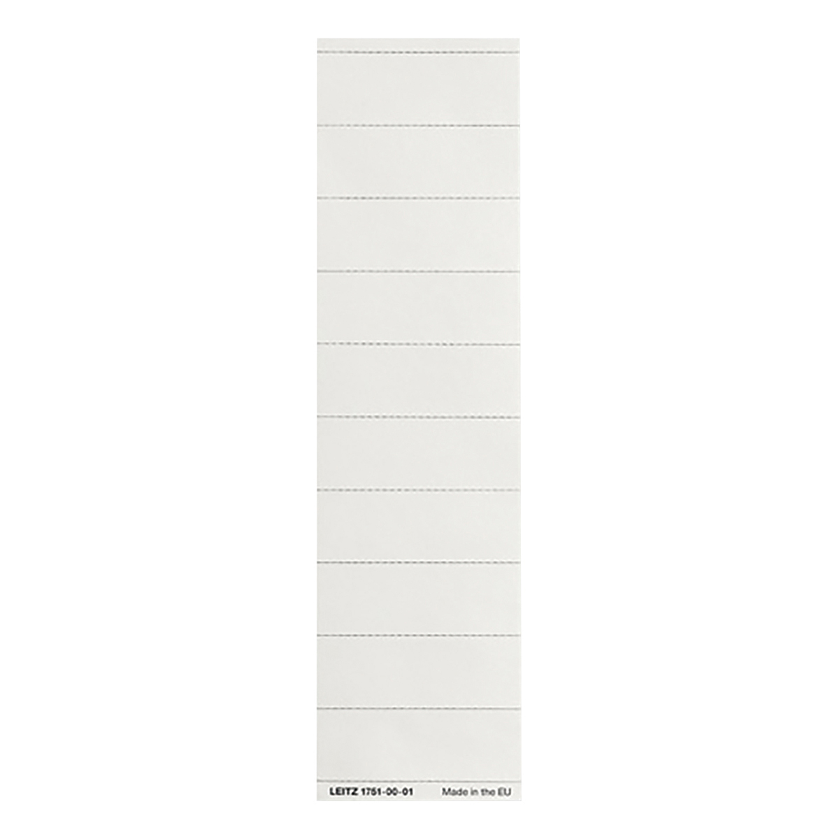 Leitz Ultimate Card Inserts for Suspension File Tabs White Ref 17510001 [Labels 100]