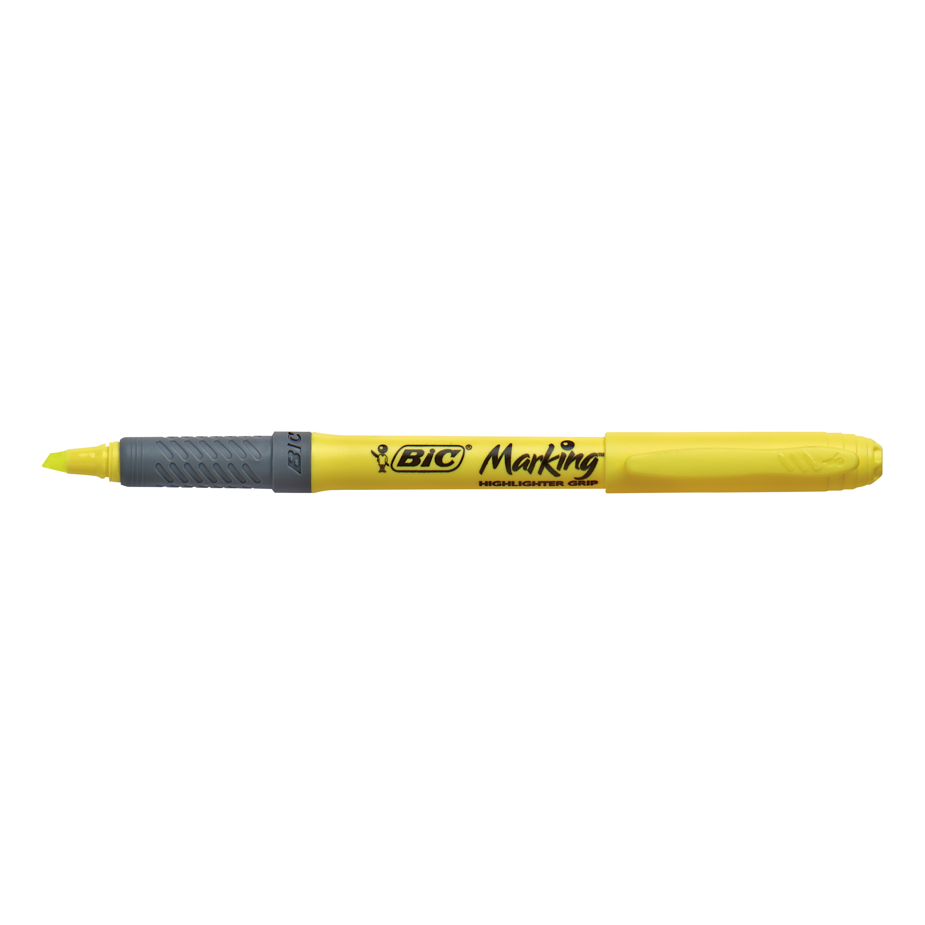 Bic Brite Liner Grip Yellow Highlighter