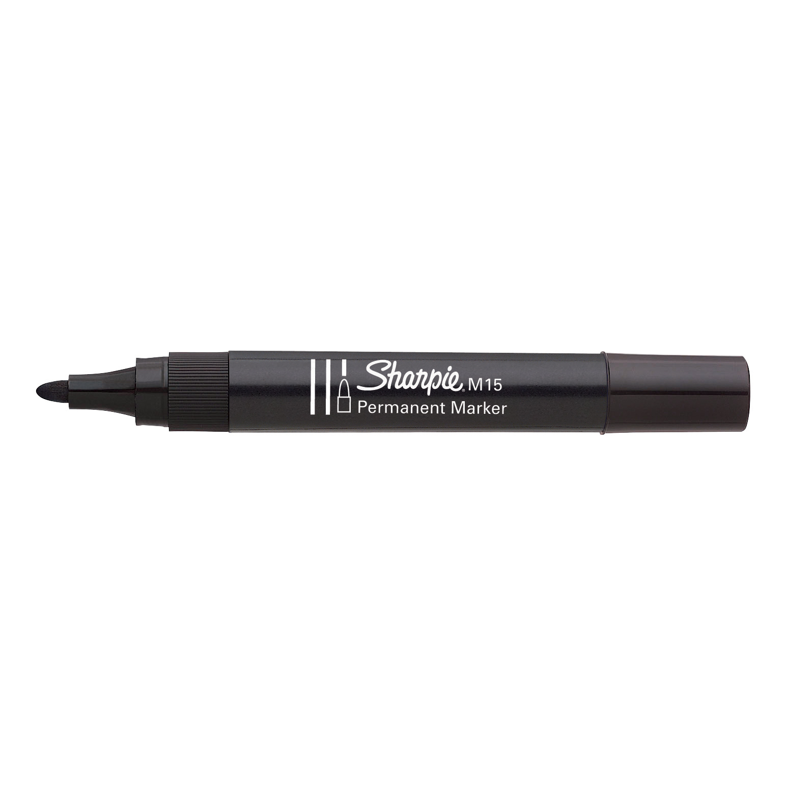 Sharpie M15 Permanent Marker Bullet Tip 2.0mm Line Black Ref S0192584 [Pack 12]