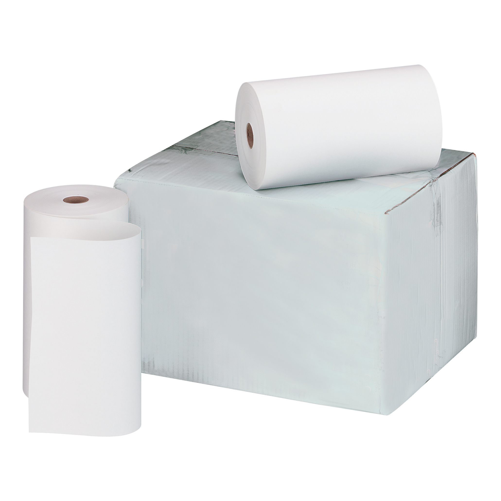 Telex Rolls 1-Ply W214xDia.120mm White Bond Pack 6