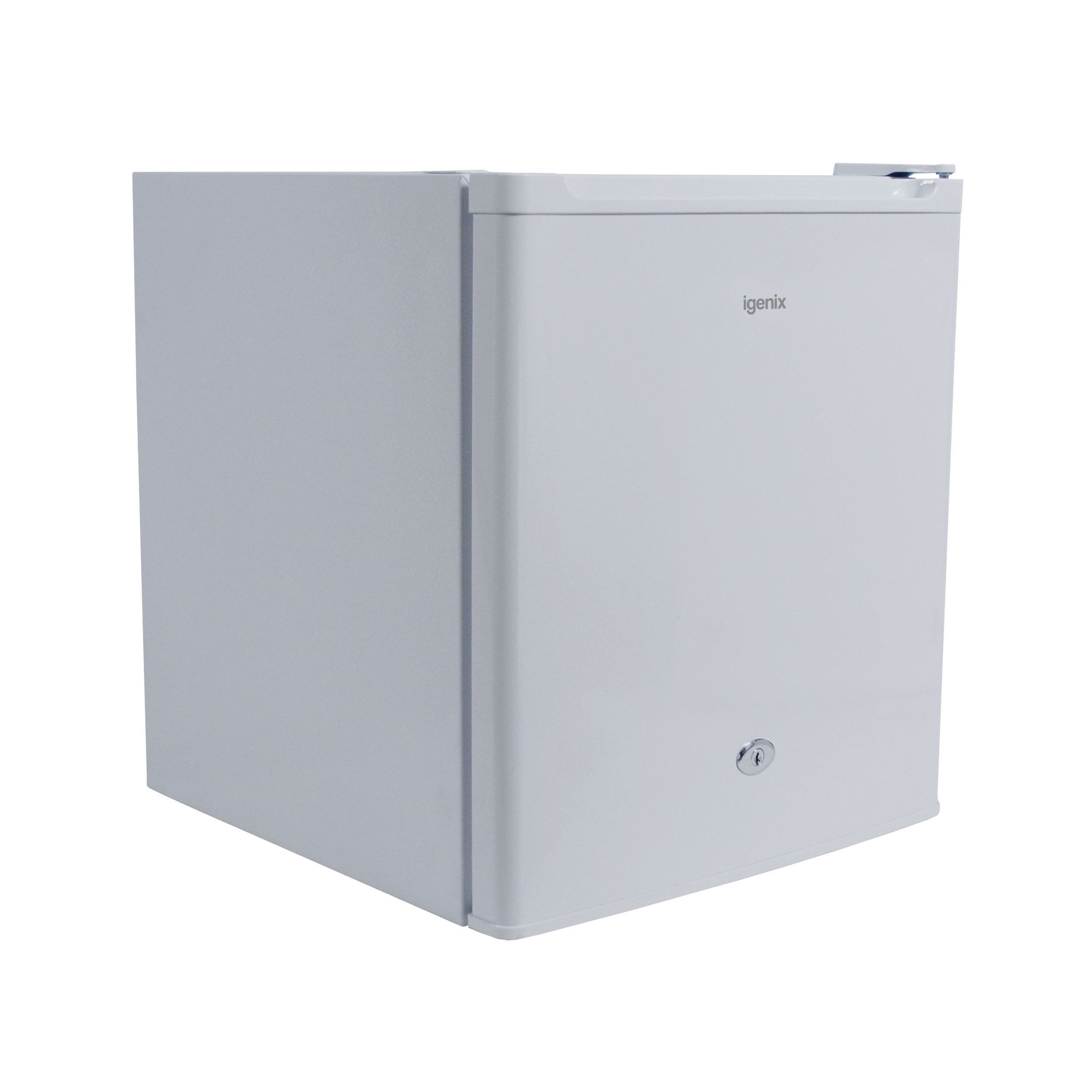Compact Counter Top Refrigerator With Ice Compartment A+ Rated 47 Litre 17kg White