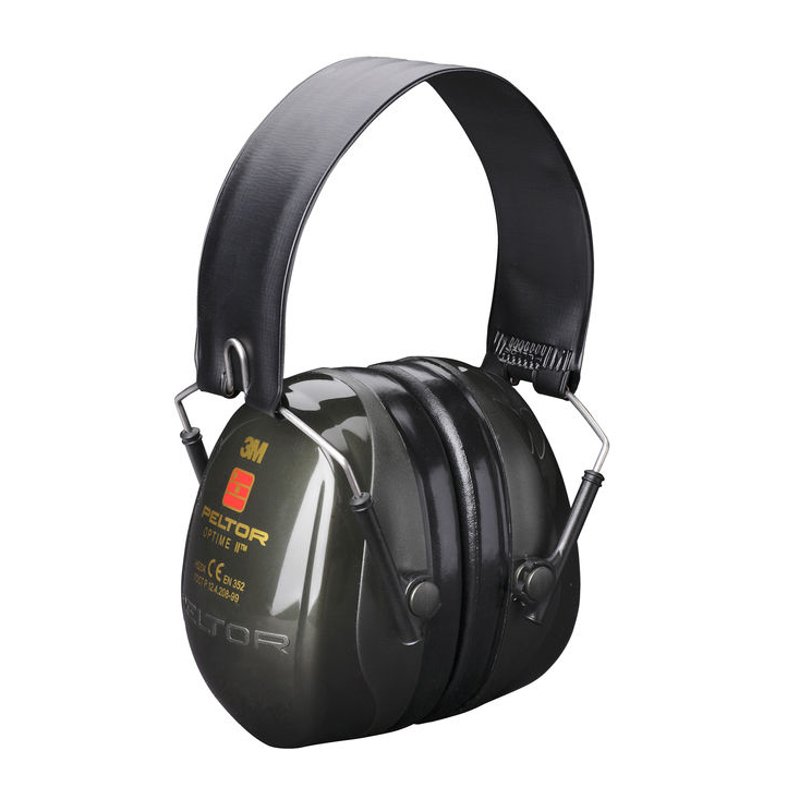 Peltor Optime 2 Ear Defenders Folding Headband Black Ref H520F-409-GQ *Up to 3 Day Leadtime*