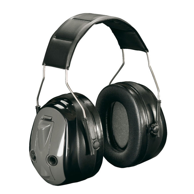 Peltor Optime Ear Muff Push To Listen Ear Defender Black Ref MT155H530A *Up to 3 Day Leadtime*