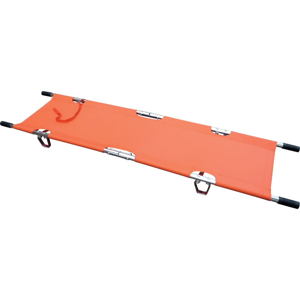 Click Medical Two Fold Stretcher Lightweight with Carrying Bag Orange Ref CM1124 Up to 3 Day Leadtime