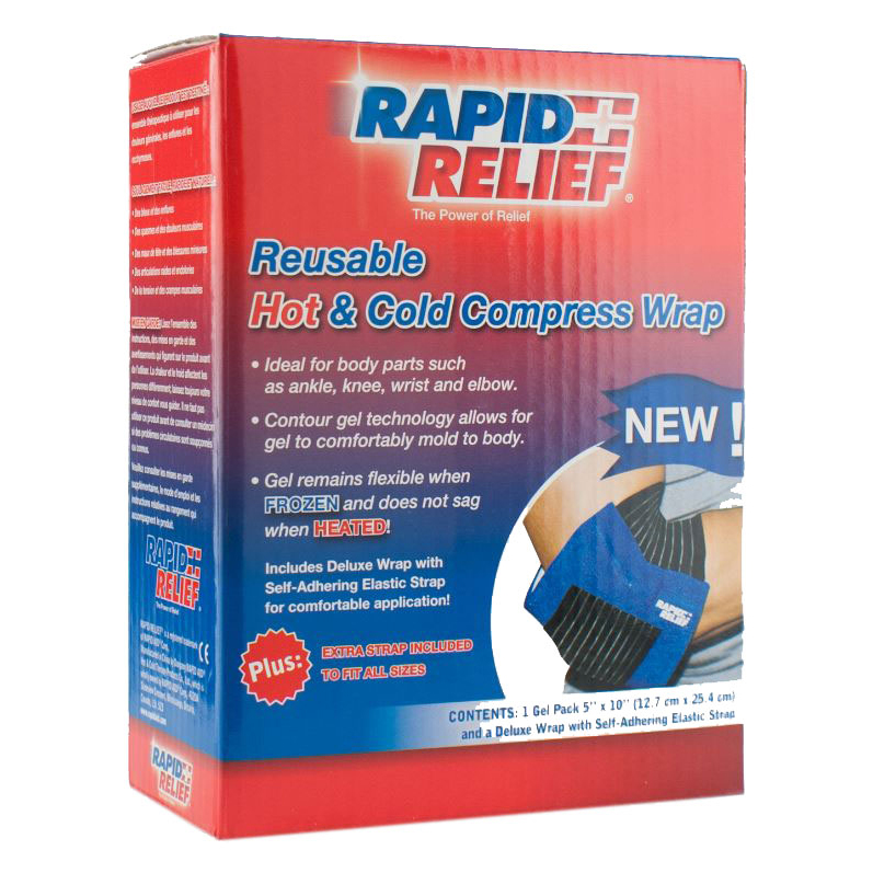 Limitless Rapid Relief Universal Reusable Hot/Cold Compress Wrap 5in x 10in Ref RA11250 *Up to 3 Day Leadtime*