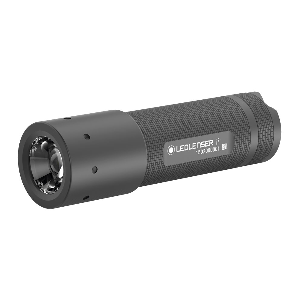 Handheld LED Lenser I2 Torch 105 Lumens 170m Beam Splash Proof Ref LED5602 *Up to 3 Day Leadtime*