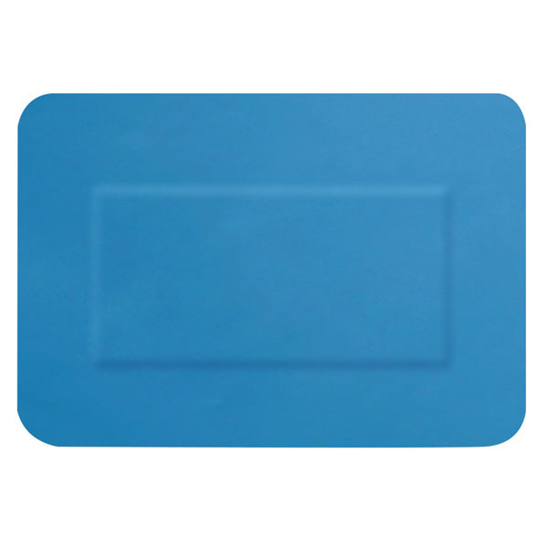 Click Medical Detectable Large Patch Plasters [Pack 50] Blue Ref CM0503 *Up to 3 Day Leadtime*