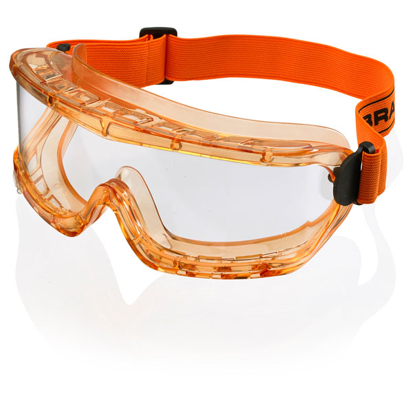 B-Brand Premium Goggles Orange Ref BBPGAF [Pack 5] *Up to 3 Day Leadtime*