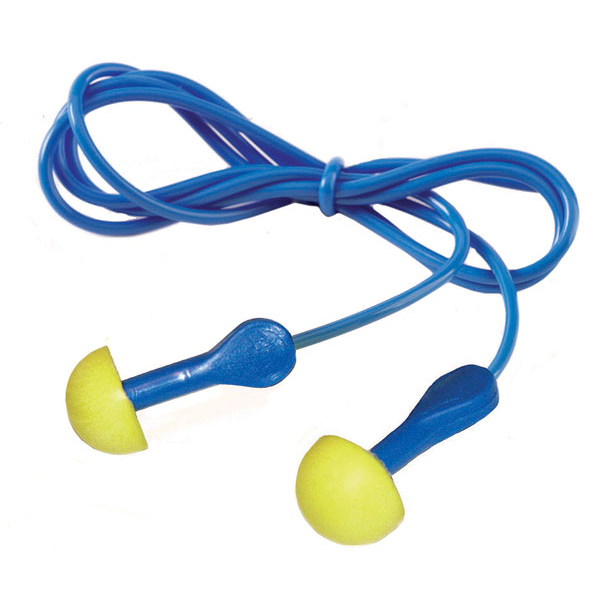 Ear Protection Ear Express Plug Corded Yellow/Blue Ref EAREXC Pack 100 *Up to 3 Day Leadtime*