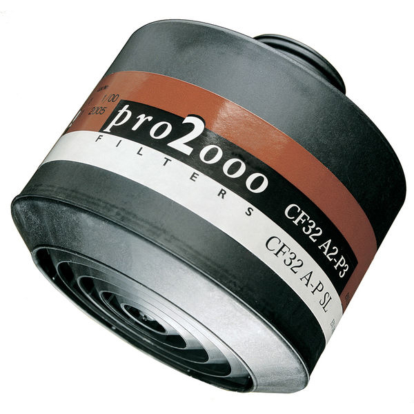 Scott Pro 2000 CF22 A2P3 Filter 40mm Thread Grey Ref 5042670 Up to 3 Day Leadtime