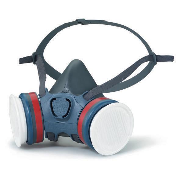 Moldex A1P2 Half Mask Lightweight Medium Grey Ref M7122 Up to 3 Day Leadtime