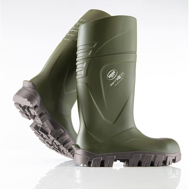 Image for Bekina Steplite XCI Full Safety Wellington Boots Size 4 Green Ref BNXC900-917304 *Up to 3 Day Leadtime*