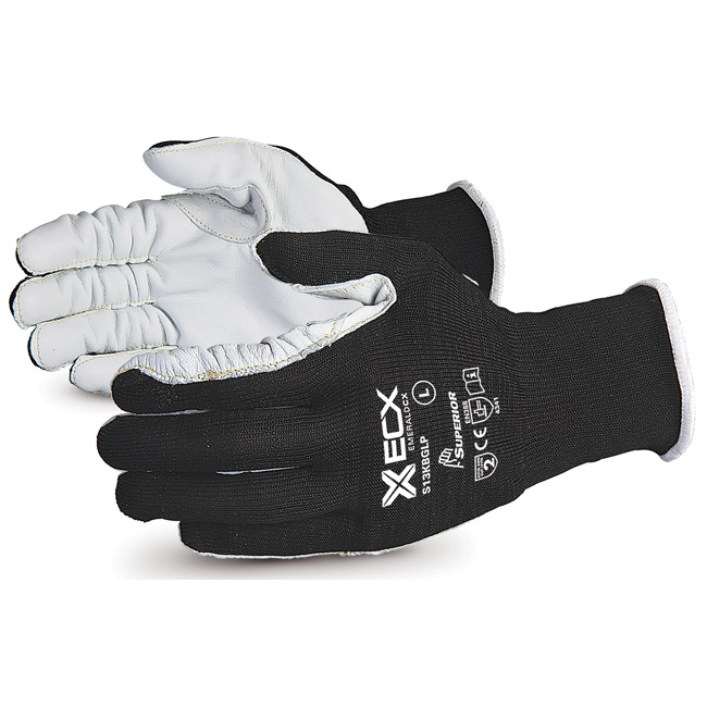 Superior Glove Emerald CX 13-G Cut-Resistant Nylon/Steel XL Grey Ref SUS13KBGLPXL *Upto 3 Day Leadtime*