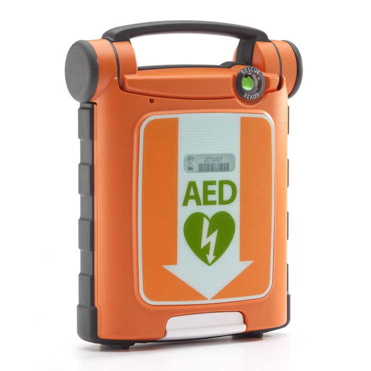 Equipment Cardiac Science G5 AED Defibrillator Kit Auto CPR with Carry Sleeve Ref CM1201 *Up to 3 Day Leadtime*