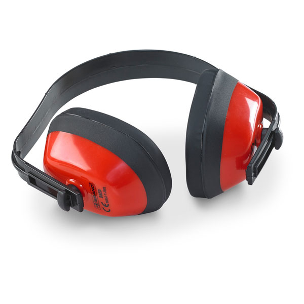 B-Brand Economy Ear Defenders Muffs Red Ref BBED Pack 10 *Up to 3 Day Leadtime*