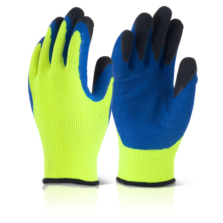 B-Flex Latex Thermo-Star Fully Dipped Glove Yellow Size 11 Ref BF3SY11 *Up to 3 Day Leadtime*