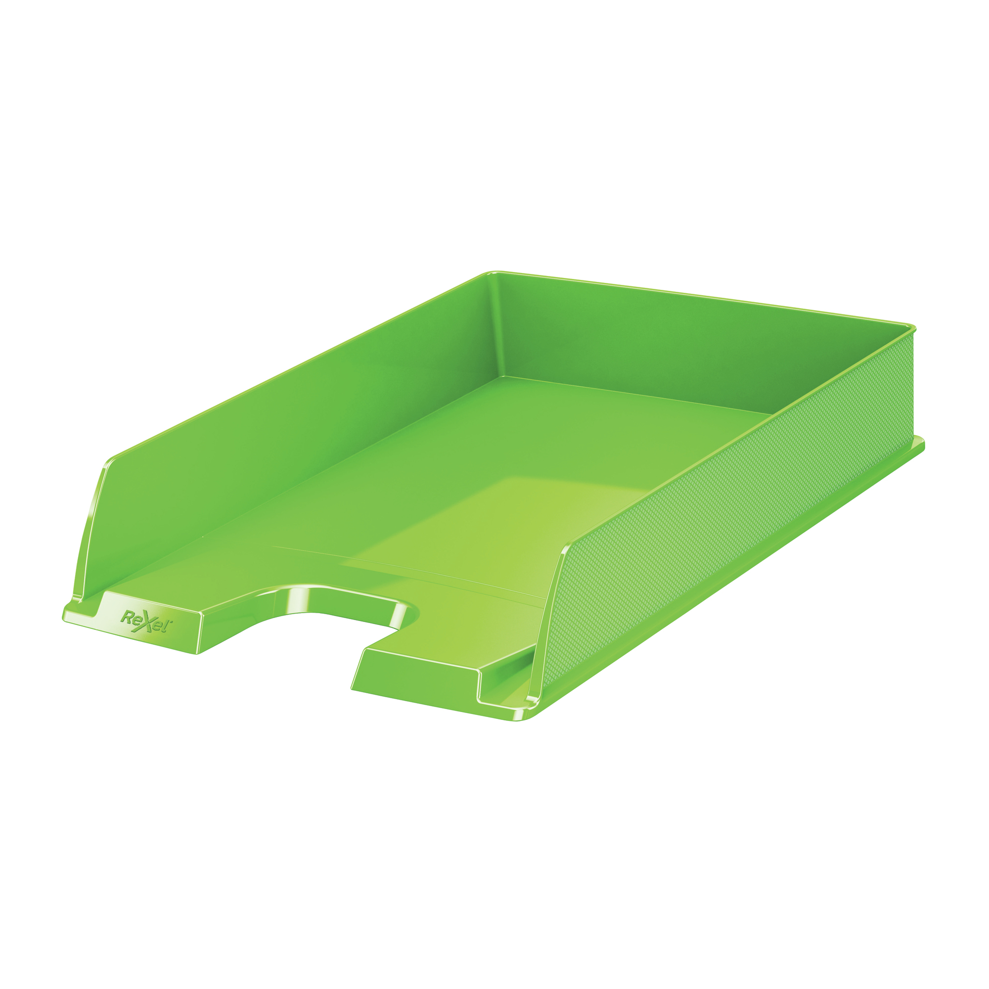 Desktop trays or organizers Rexel Choices Letter Tray PP A4 254x350x61mm Green Ref 2115600