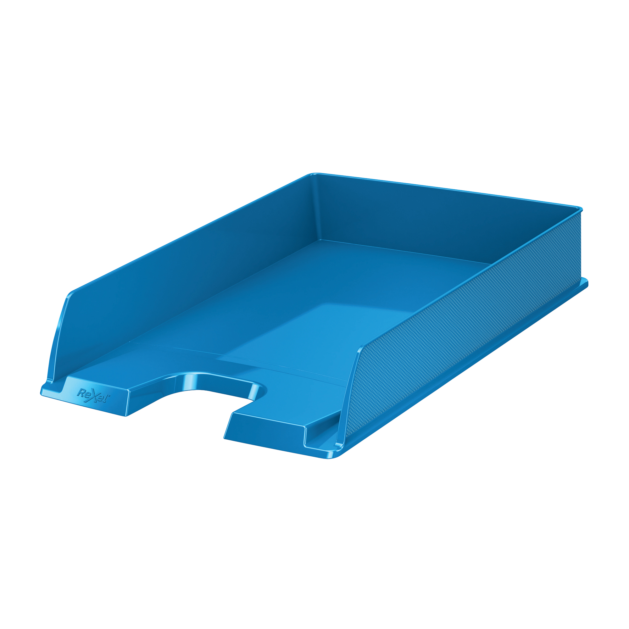 Desktop trays or organizers Rexel Choices Letter Tray PP A4 254x350x61mm Blue Ref 2115601