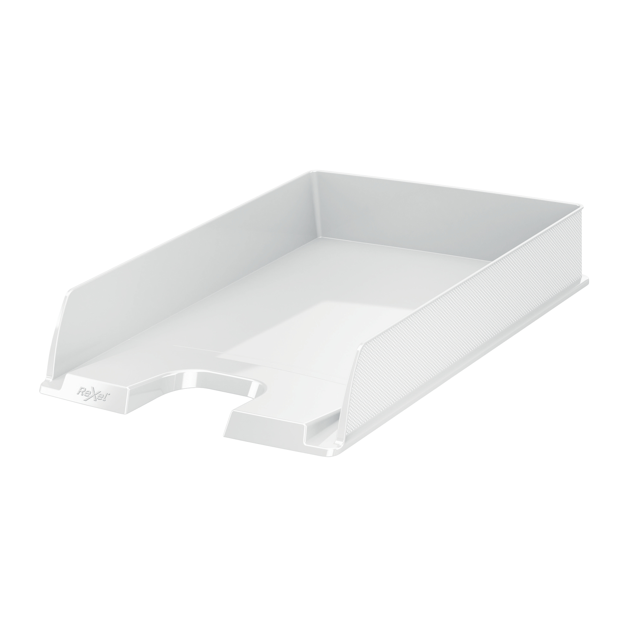 Desktop trays or organizers Rexel Choices Letter Tray PP A4 254x350x61mm White Ref 2115602