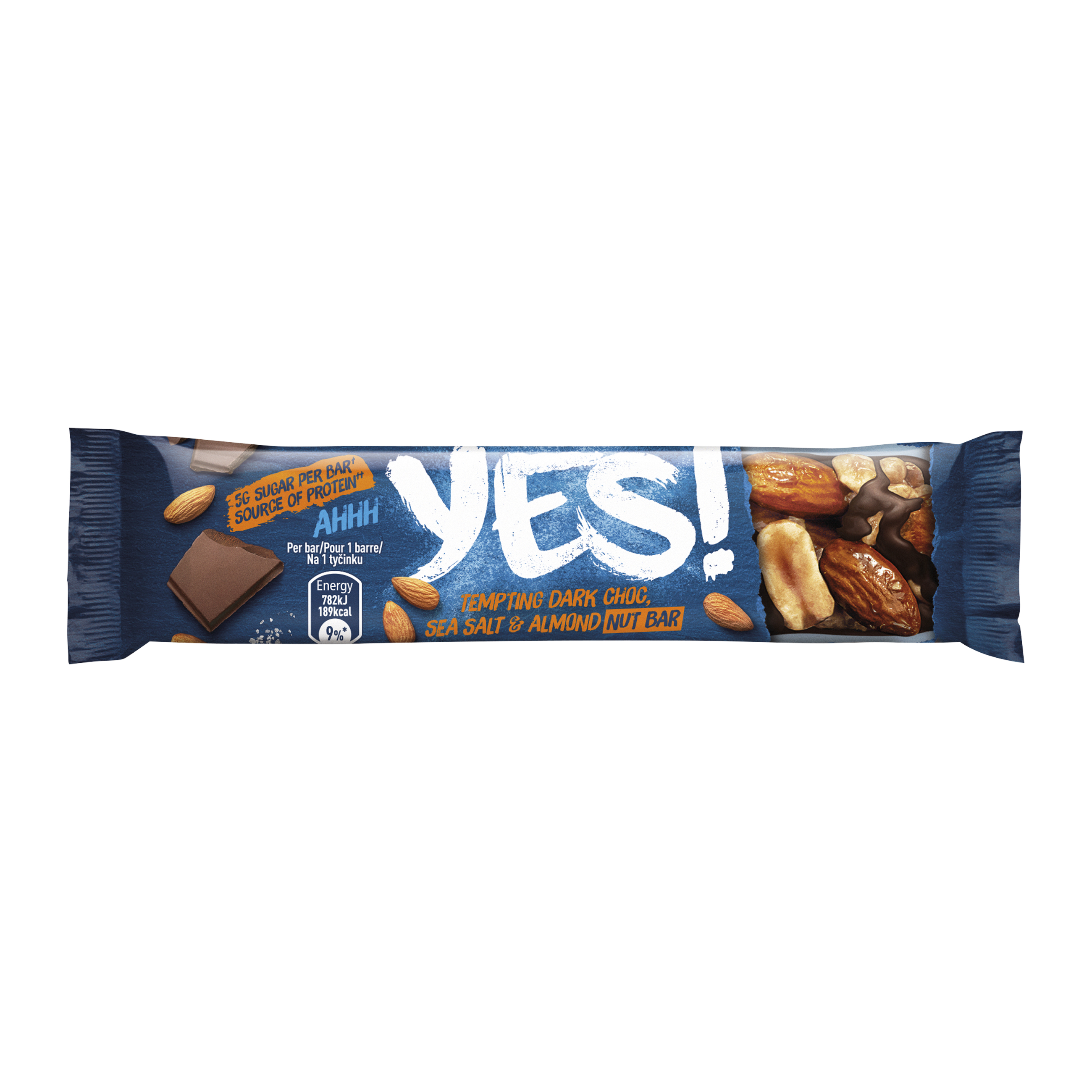 YES Sea Salt & Dark Chocolate Bar 32g Ref 12403827 Pack 24
