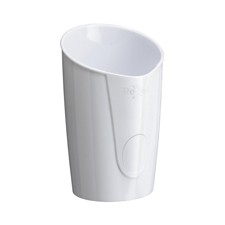 Rexel Choices Pen Pot 90x90x124mm White Ref 2115614