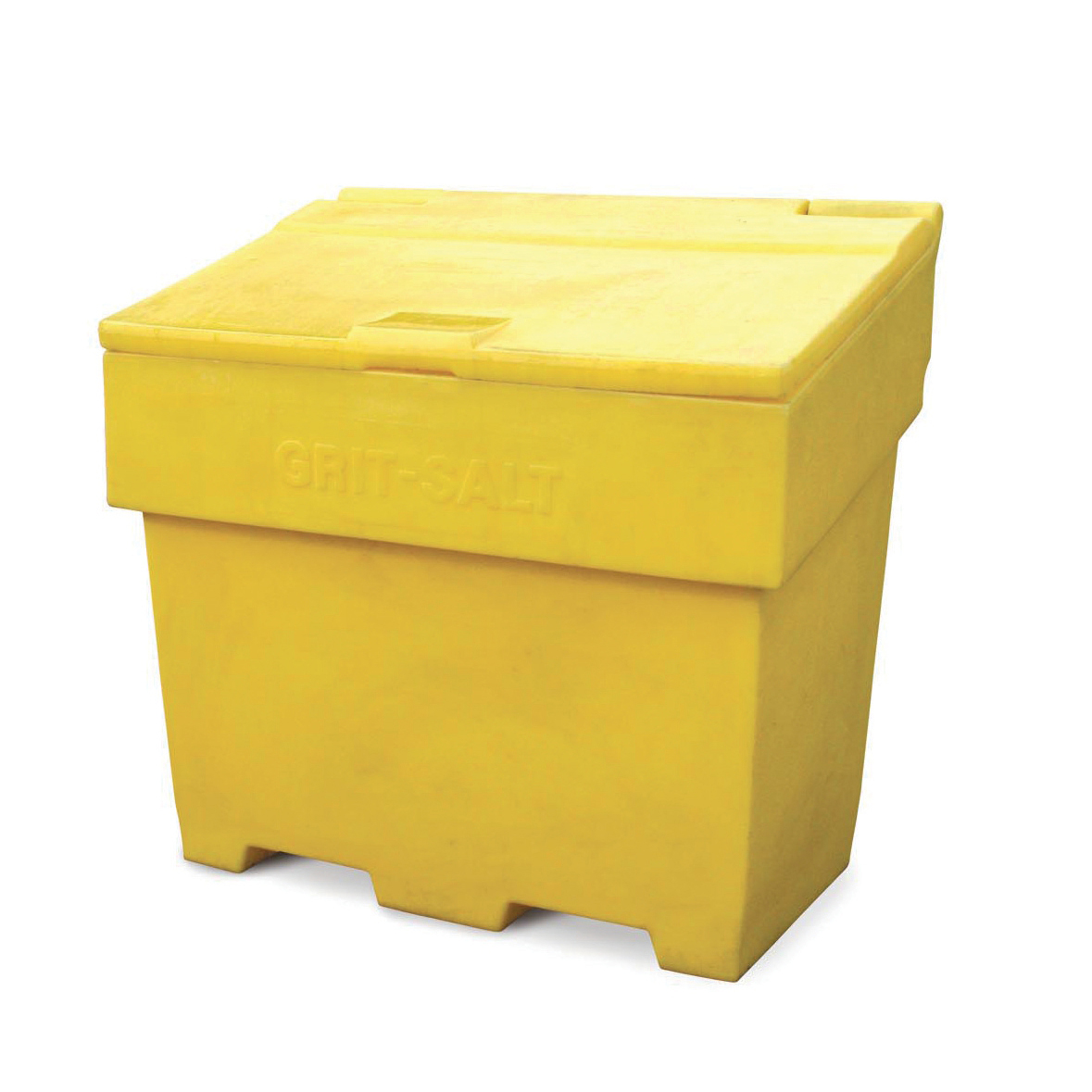 Grit Bins & Accessories Bentley Grit and Salt Bin Polyethylene Capacity 400kg Weight 22kg Ref SPC/GRIT400