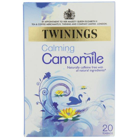 Twinings Infusion Tea Bags Individually-wrapped Camomile Ref 0403147 Pack 20
