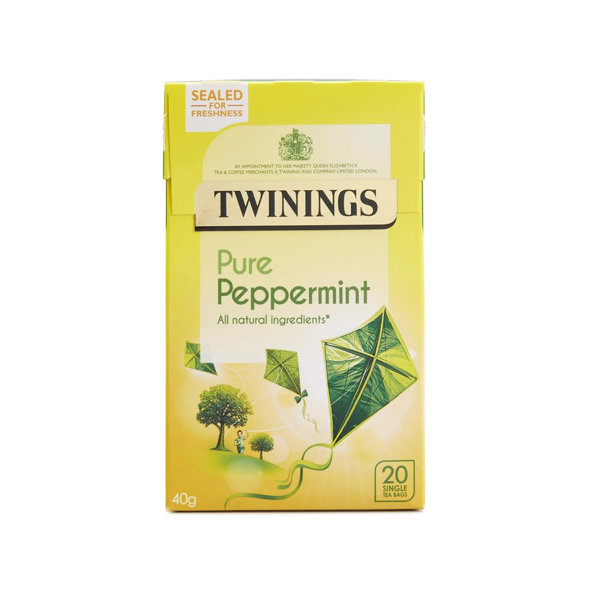 Tea Twinings Infusion Tea Bags Individually-wrapped Peppermint Ref 0403118 Pack 20