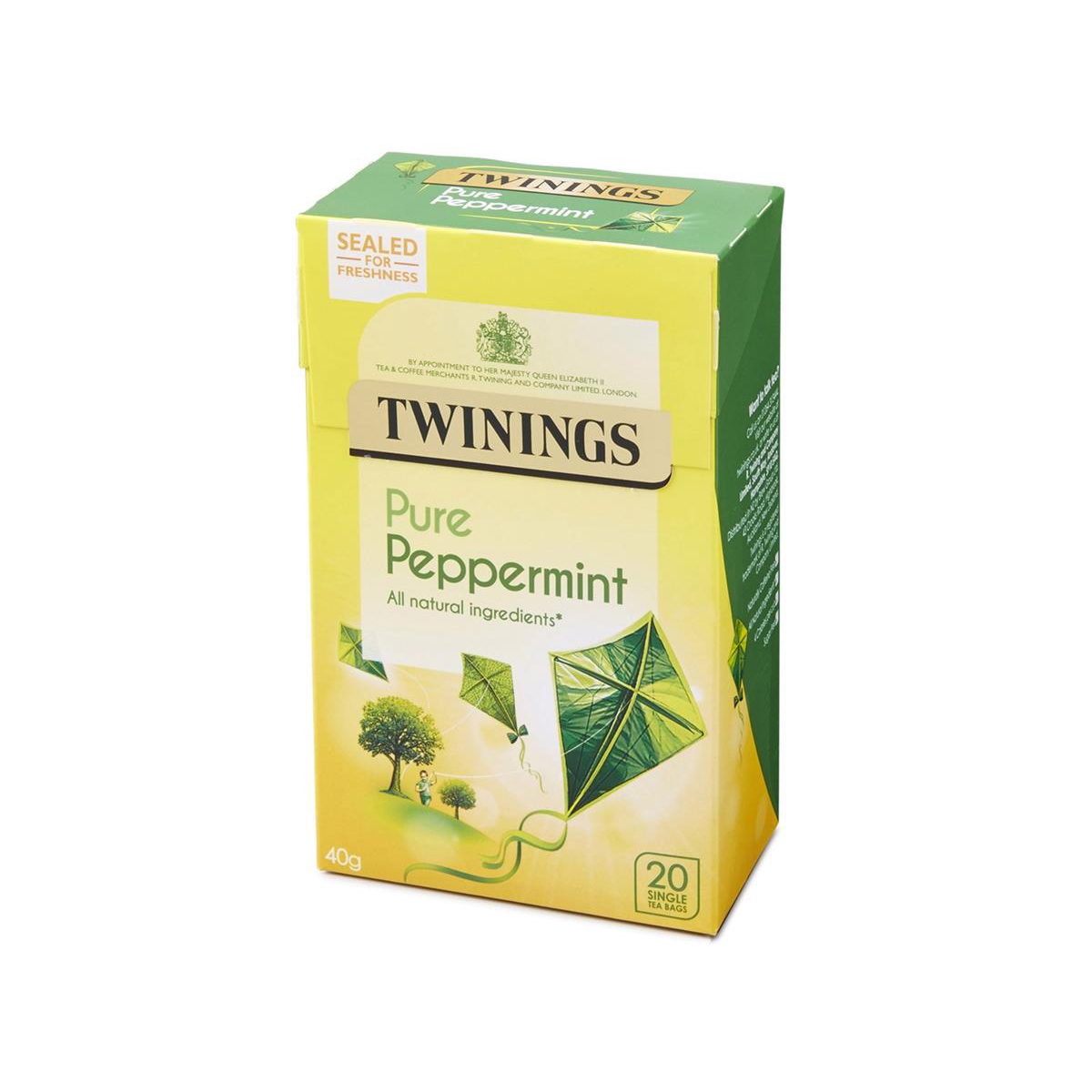 Twinings Infusion Tea Bags Individually-wrapped Peppermint Ref 0403118 Pack 20