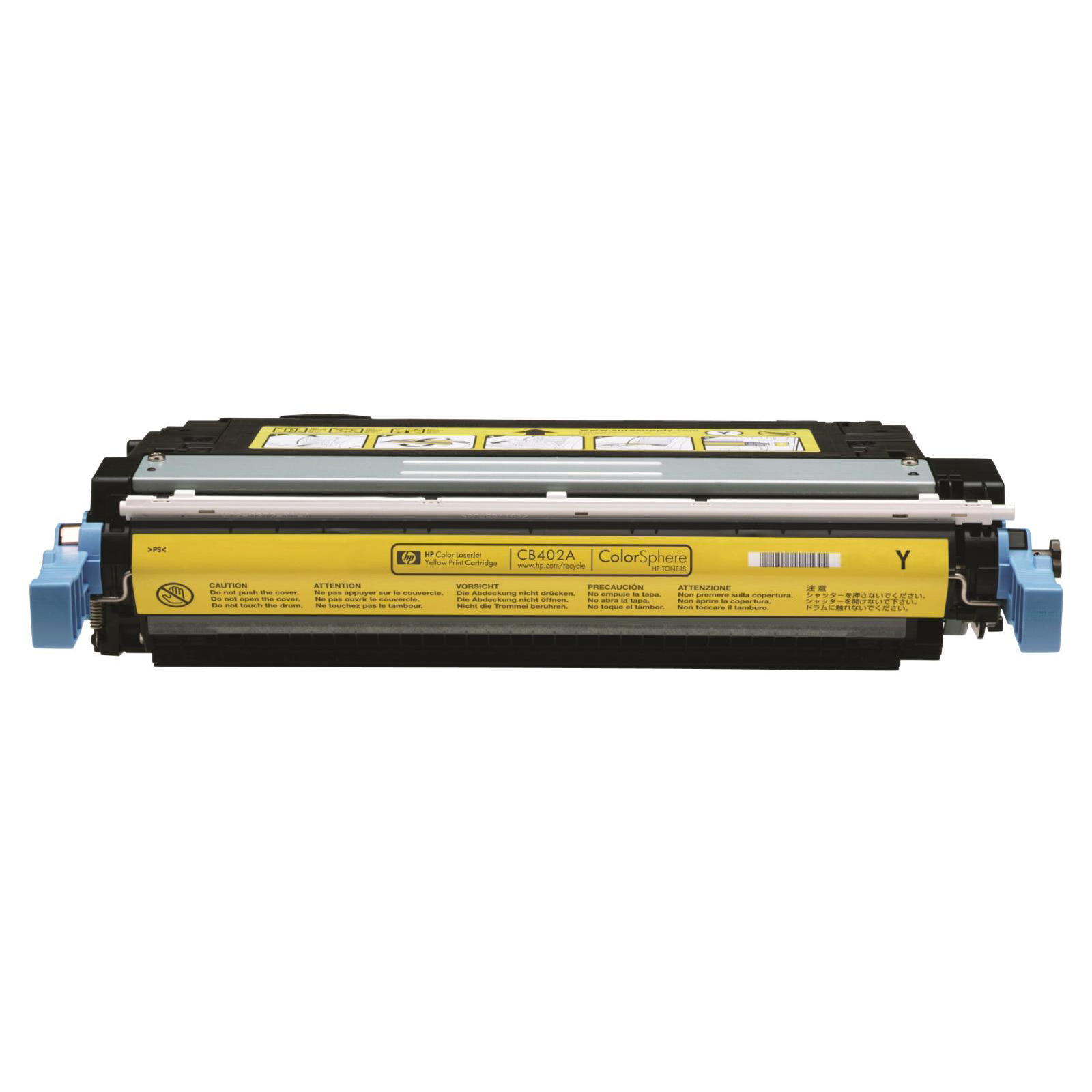 HP 642A Laser Toner Cartridge Page Life 7500pp Yellow Ref CB402A