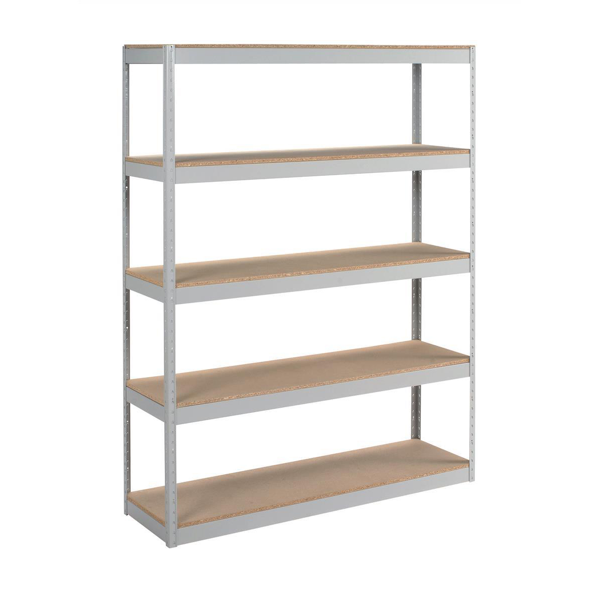 Over 1200mm High Trexus Archive Shelving Unit Heavy-duty Extra Wide 5 Shelves Capacity 100kg