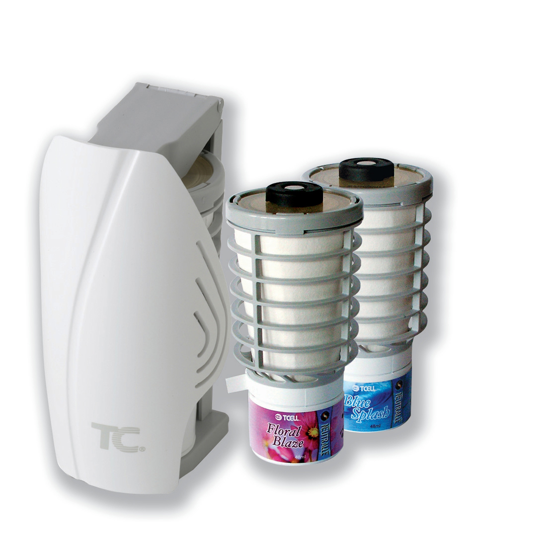 Air Freshener Tcell Starter Kit Pure Fragrance and Odour Neutraliser for 60 Days plus 2 Refills Ref 402557E