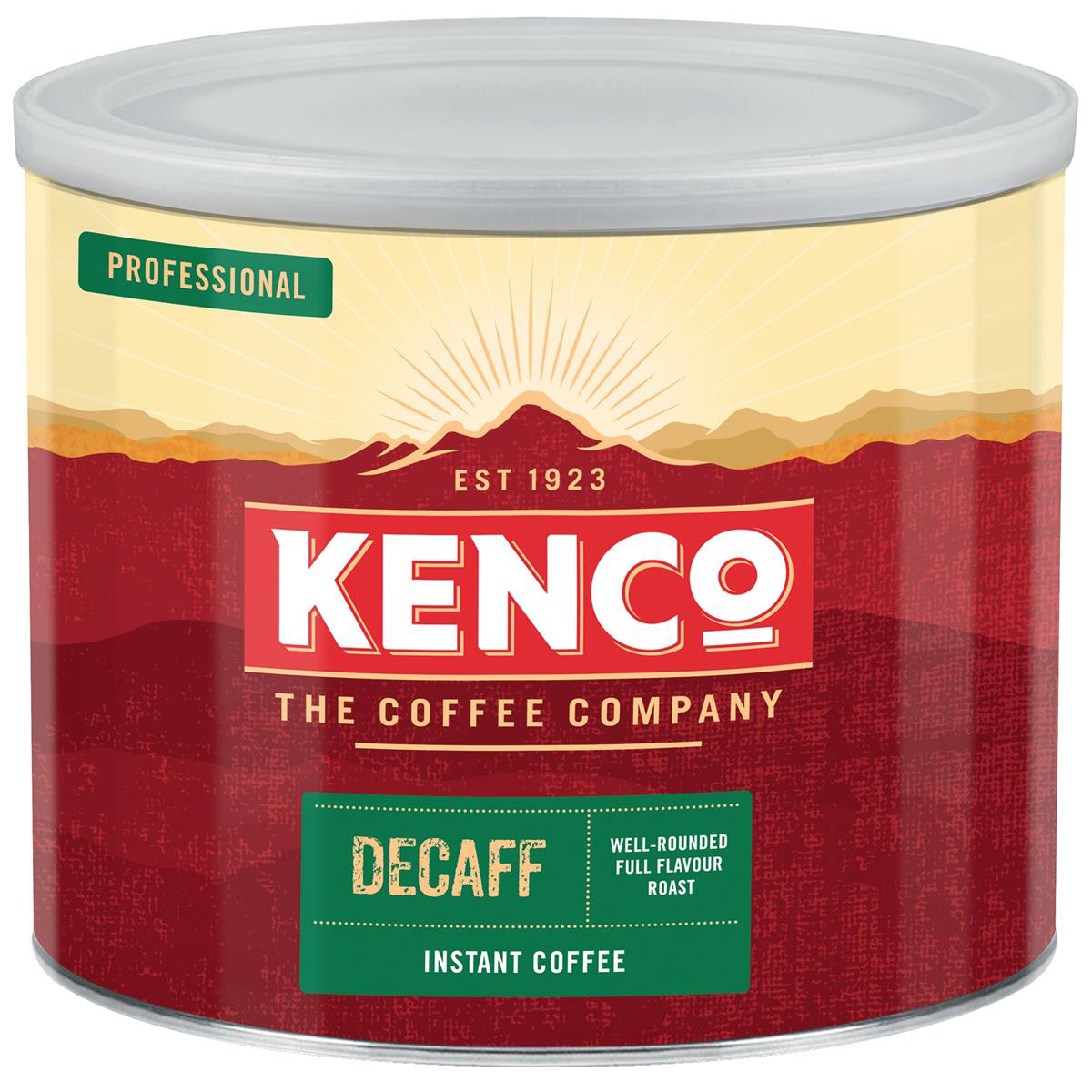 Image for Kenco Decaffeinated Instant Coffee Tin 500g Ref 4032079