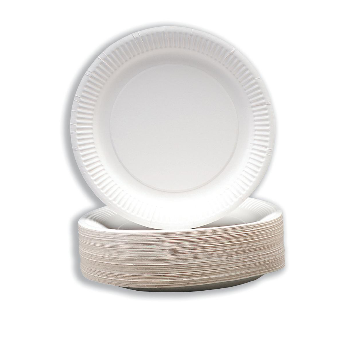 Paper Plates Disposable 180mm Pack 100