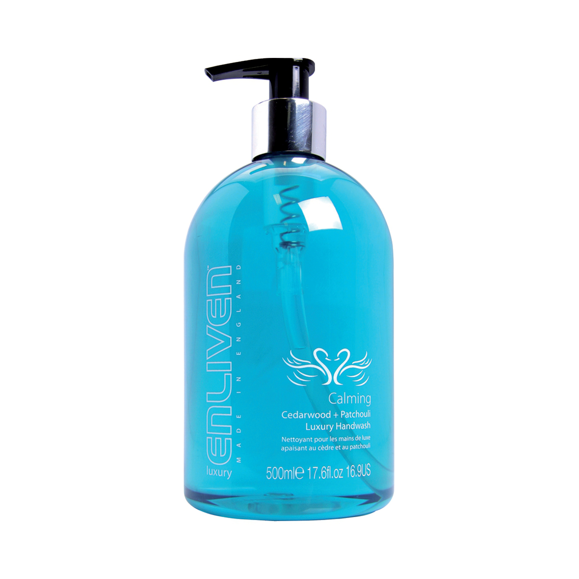 Enliven Luxury Handwash Calming Cedarwood & Patchouli 500ml Ref 502328