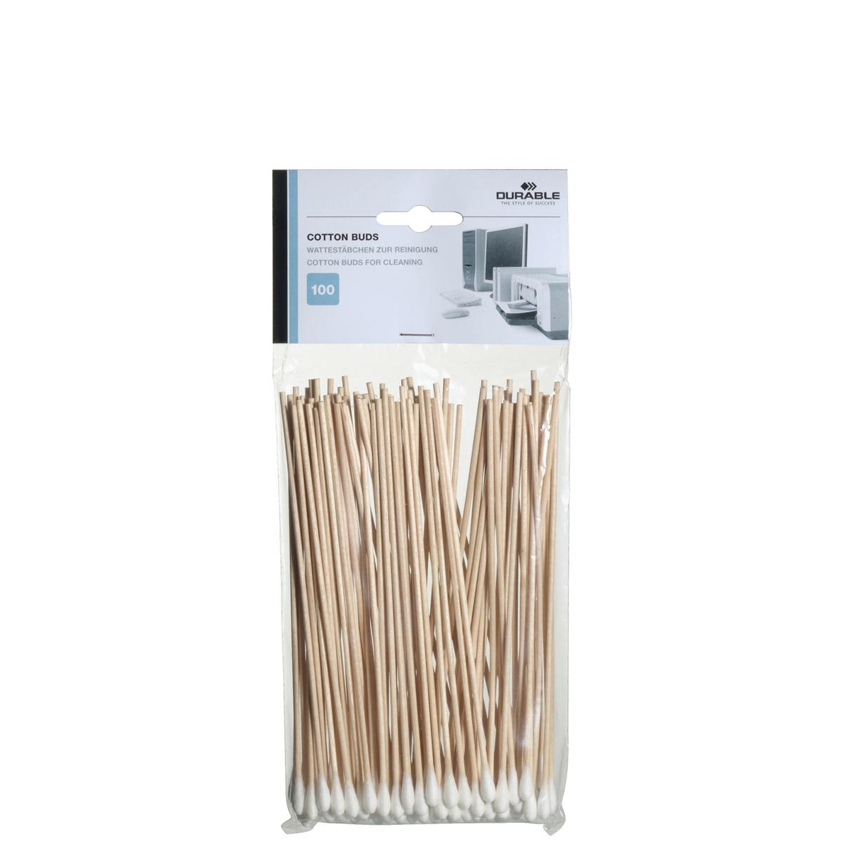 Durable Cotton Buds Extra Long White Ref 5789 Pack 100