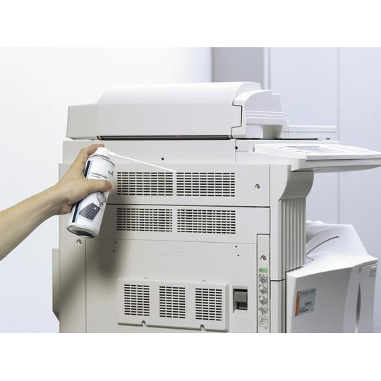 Durable Powerclean Standard Air Duster Gas Cleaner Flammable 400ml Ref 5796