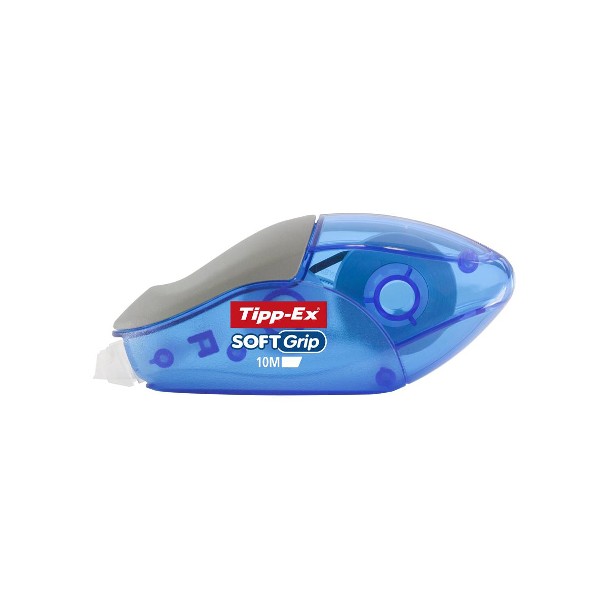 Correction Tape Tipp-Ex Soft Grip Correction Tape Roller 4.2mmx10m Ref 895933 [Pack 10]