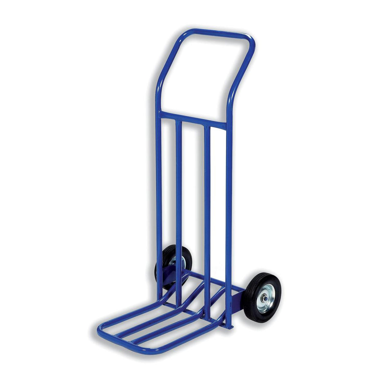 Trolleys Hand Trolley Capacity 160kg Foot Size W565xL640mm Blue