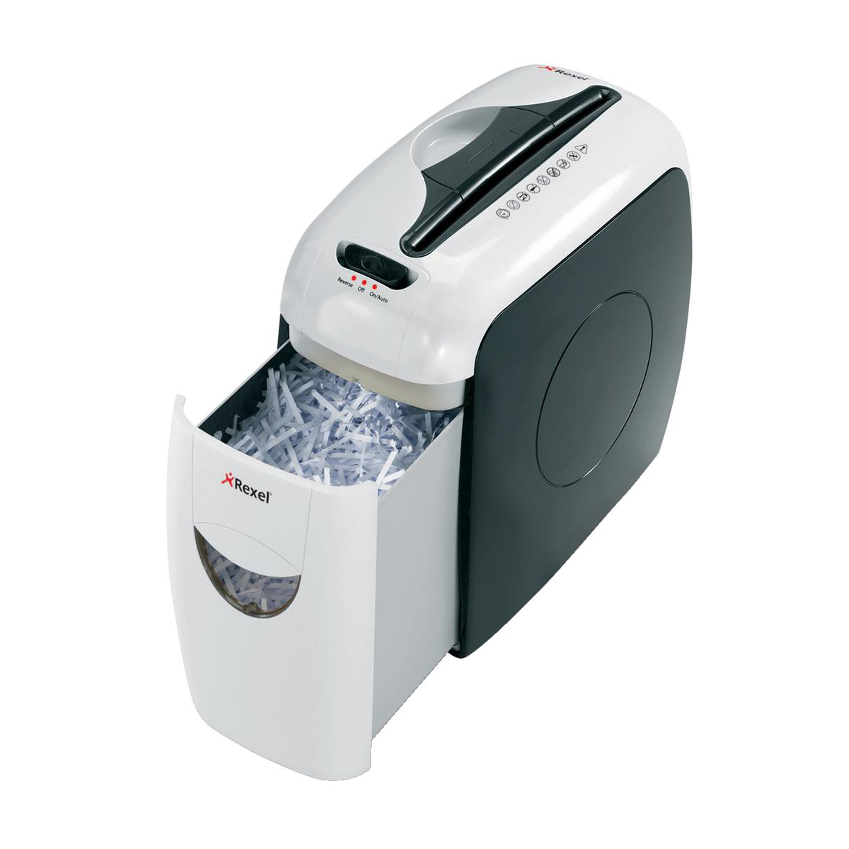 Rexel Style Shredder Cross-cut P-4 7.5 Litres Ref 2101942UK