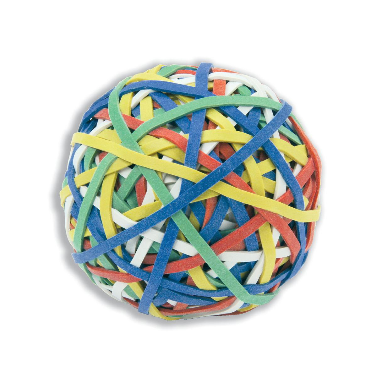 Rubber Bands 5 Star Office Rubber Band Ball of 200 Bands Assorted